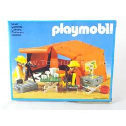 Safari Explorers and Tent vintage Playmobil 3413 MIB