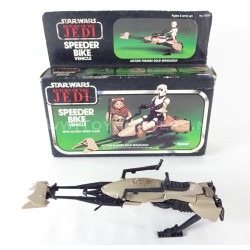 Speeder Bike complete with Box - Kenner Star Wars ROJ