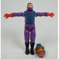 Toxo Viper v1 + helmet - Hasbro 1988