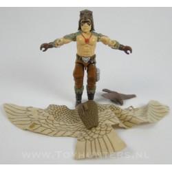 Raptor v1 + bp and bird - Hasbro 1987