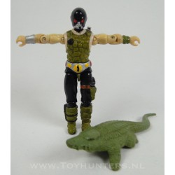 Croc Master v1 + Crocodile - Hasbro 1987