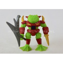 Horny Toad 100% complete - Battle Beasts Hasbro 1986