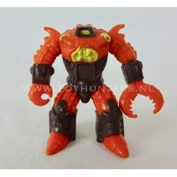 Crusty Crab - Battle Beasts Hasbro 1986