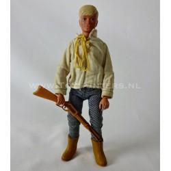 Danny Reid loose - 70s The Lone Ranger Marx Toys Gabriel