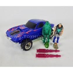 Wolfbeast w/ Miles Mayhem and clone - Split Seconds MASK Kenner
