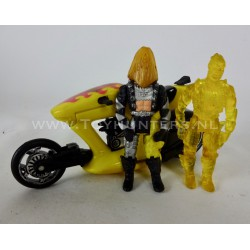 Barracuda w/ Bruno Shephard and clone - Split Seconds MASK Kenner