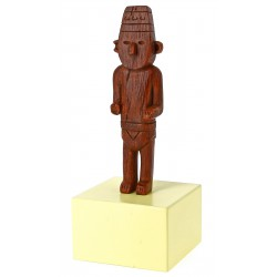 Arumbaya statue - Musée Imaginaire collection Tintin Snowy Milou