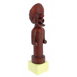 Sir Francis Haddock statue - Musée Imaginaire collection Tintin Snowy Milou