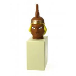 Mochica Vase statue - Musée Imaginaire collection Tintin Snowy Milou