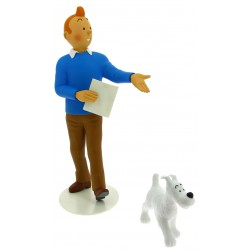 Tintin & Snowy statue - Musée Imaginaire collection Milou