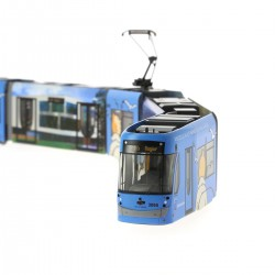 Kuifje Tram STIB M 1:87 HO - 1000ex worldwide Moulinsart Herge