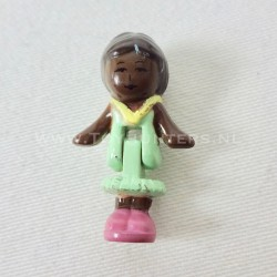 1992 Mrs. Kelly aka Miss Wright from Stamping School Polly Pocket Bluebird