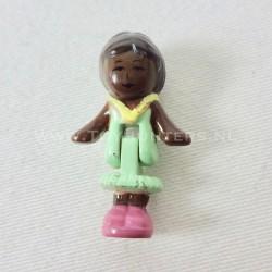 1992 Mrs. Kelly aka Miss Wright from Stamping School Polly Pocket Bluebird