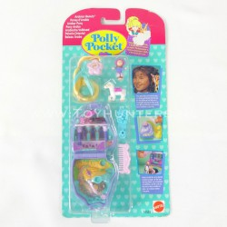 Western Pony MOC - Polly Pocket Bluebird 1995