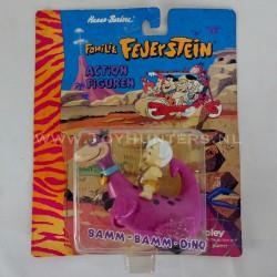 1965 Barney Rubble Ceramic Tile - The Flintstones Yogi Bear Hanna-Barbera