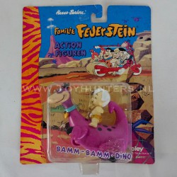 Bam Bam on Dino MOC - The Flintstones Boley 90s Hanna-Barbera