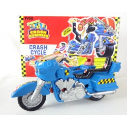 Crash Cycle BLUE w/ box - Crash Dummies