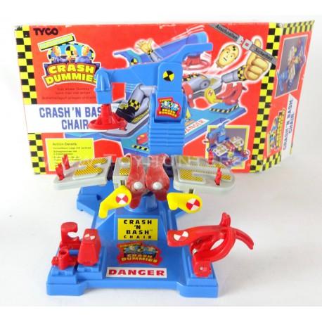Crash n Bash Chair w/ box - Crash Dummies Tyco