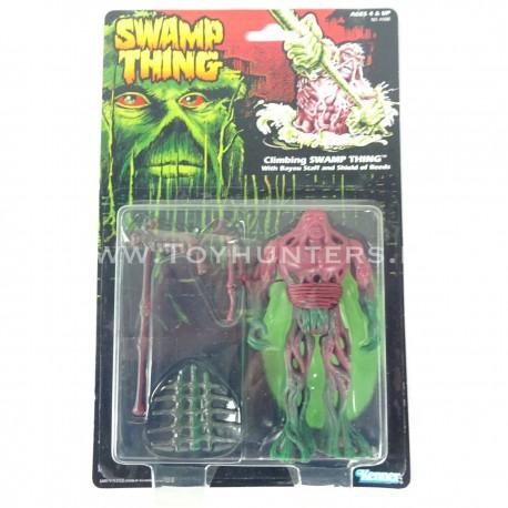 Climbing Swamp Thing MOC - Swamp Thing US card Kenner 1990 lot