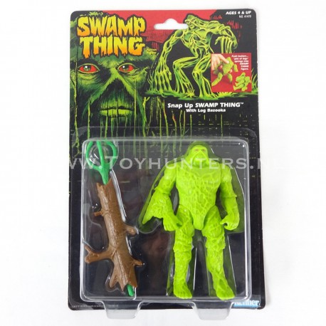 Snap-Up Swamp Thing MOC - Swamp Thing US card Kenner 1990 lot