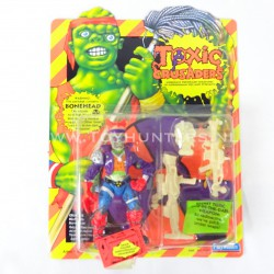 Bonehead MOC - Toxic Crusaders Playmates 1991 - Avengers Cartoon AFA it