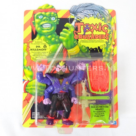 Dr Killemoff MOC - Toxic Crusaders Playmates 1991 - Avengers Cartoon AFA it