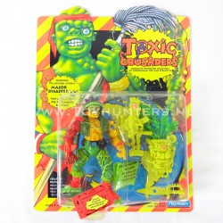 Major Disaster MOC - Toxic Crusaders Playmates 1991 - Avengers Cartoon AFA it