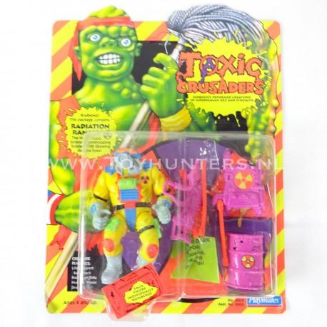 Radiation Ranger MOC - Toxic Crusaders Playmates 1991 - Avengers Cartoon AFA it
