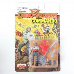 Bomba MOC - Dino Riders Commando Tyco 1989
