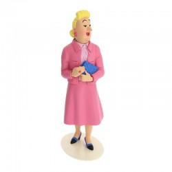 Bianca Castafiore statue - Musée Imaginaire collection Tintin Snowy Milou