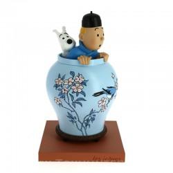 Tintin Potiche - Icones Vase Jar Moulinsart
