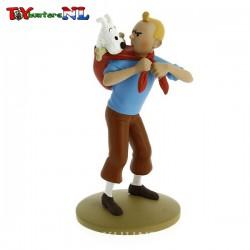 Tintin ramene Milou - 12cm