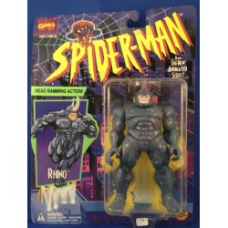 Rhino MOC from Spiderman Toy Biz 1994