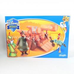 Barrel Wagon MISB - Little John Alan-A-Dale Disney Heroes Famosa 2004 Robin Hood
