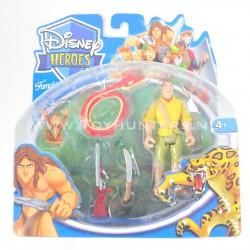 Clayton MOC - Tarzan Disney Heroes Famosa 2007 Adventures
