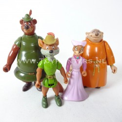 Robin Hood lot 1 loose - Marion Little John Friar Tuck Famosa Disney Heroes