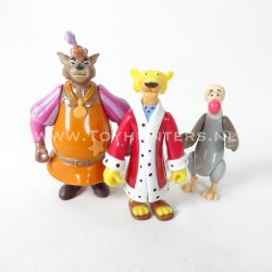 Robin Hood lot 2 loose - Prince John Sherrif Nottingham Nutsy Famosa Disney Heroes
