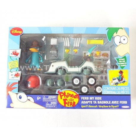 Agents P's Hovercraft - Phineas and Ferb - Jakks Pacific 2010
