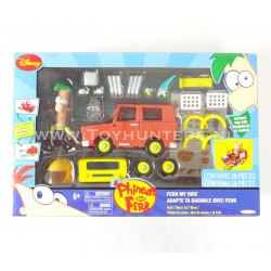 Ferb's Moms Car Racer - Phineas and Ferb - Jakks Pacific 2010