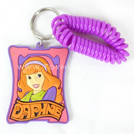Daphne - Scooby-Doo 3D Keychain rubber