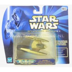 Die Cast Metal - Droid fighter Episode I 1 Hasbro 1999 Star Wars Micro Machines