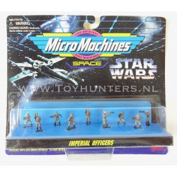 Star Wars Micro Machines - Imperial Officers IX 9 Figures - Ideal 1996