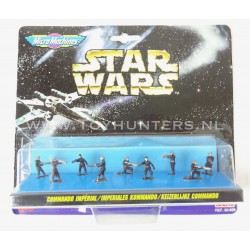Star Wars Micro Machines - Imperial Commando IX 9 Figures - Ideal 1996