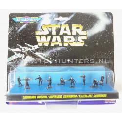 Star Wars Micro Machines - Imperial Commando IX 9 Figures - Ideal 1996
