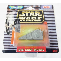 The Imperial Star Destroyer Die Cast Metal Star Wars Micro Machines
