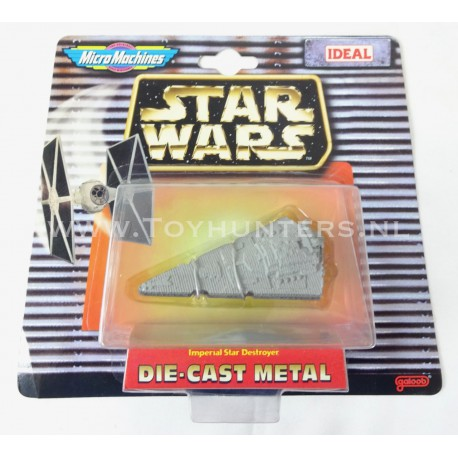 The Imperial Star Destroyer Die Cast Metal Star Wars Micro Machines
