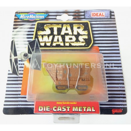 Star Wars Micro Machines Die Cast Metal Java Sandcrawler