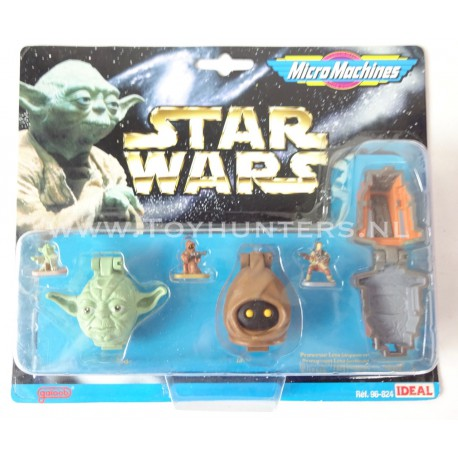 Star Wars Micro Machines Heads - Collection III 3 -Ideal 1996