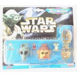 set of 4x Podracing Star Wars Micro Machines Episode I Hasbro 1999