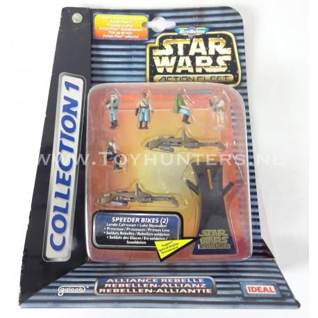 Collection I 1 Speeder Bikes MOC Star Wars Action Fleet Micro Machines